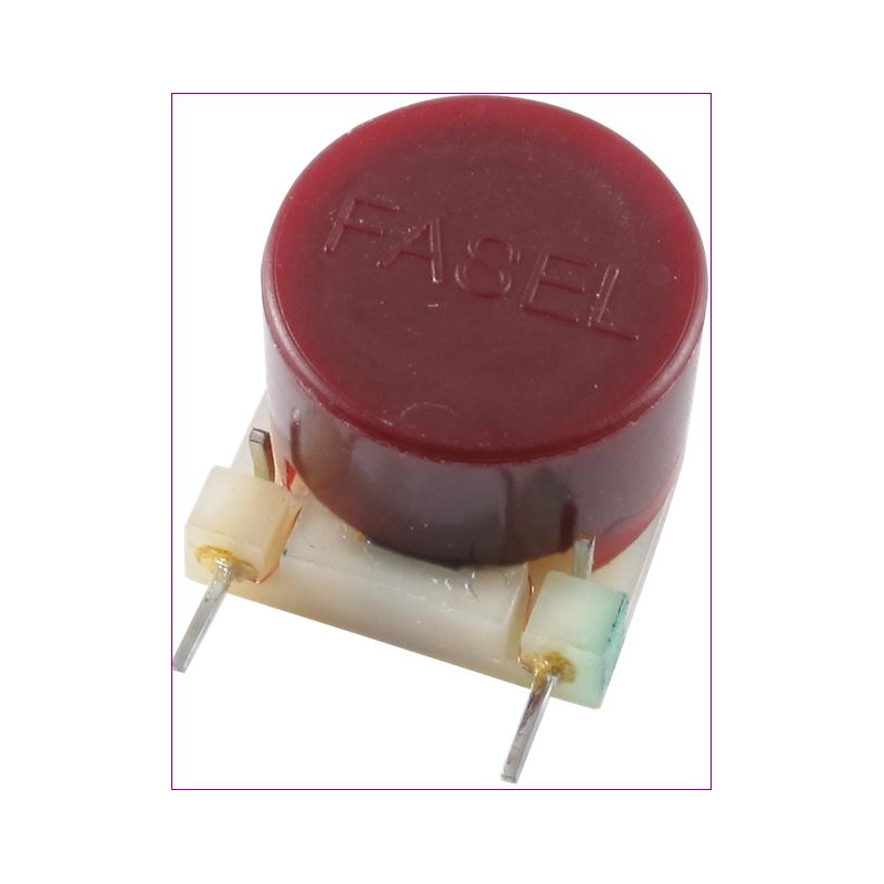 Inductor Dunlop FASEL Rojo para WAH
