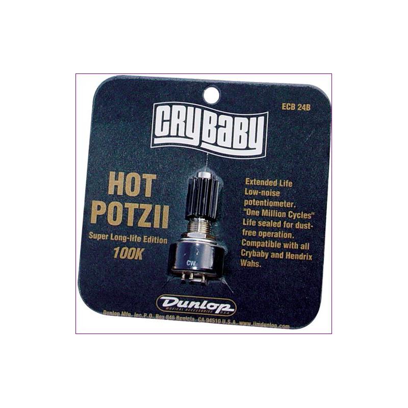Potenciometro Hot Potz II Dunlop Crybaby 100K