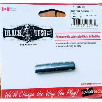 Cejilla Black Tusq XL de GRAPH TECH   guitarra EPIPHONE  LP