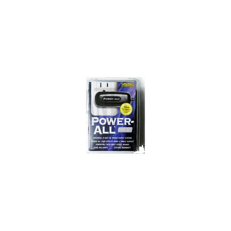 KIT Básico Power All cargador de 9 volts para Pedaleras