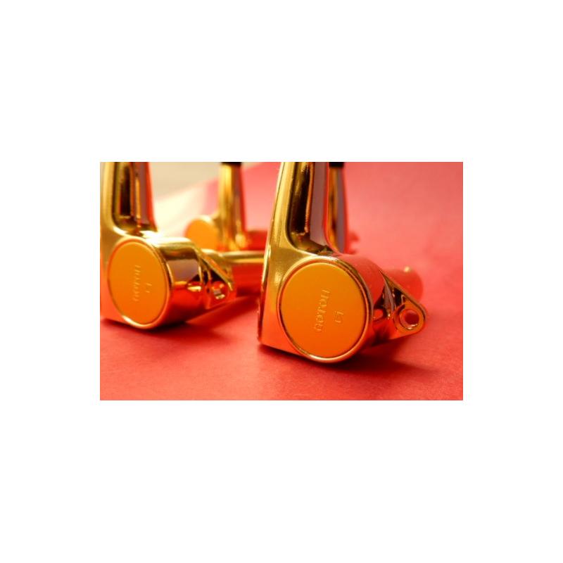 Maquinara  Gotoh compact Gold para Bajo 3+2